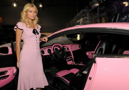 Paris Hilton's Bentley