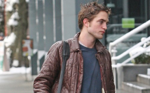 Robbert Pattinson in Canada