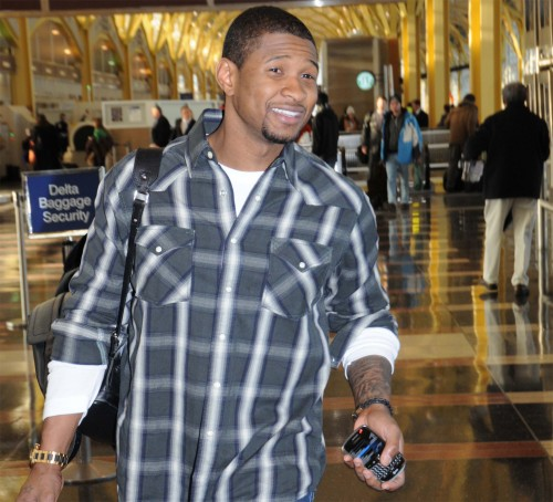 Usher @ The Airport