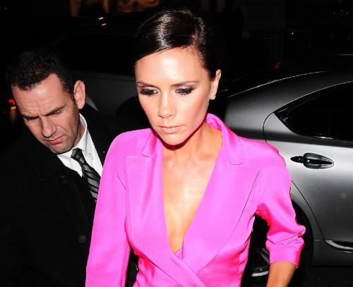 Victoria Beckham in Pink