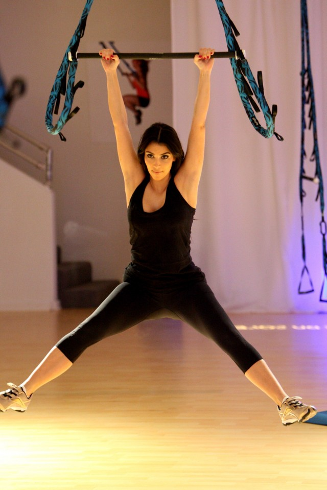 kim kardashian work out 13