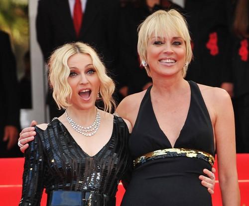 Madonna & Sharon Stone