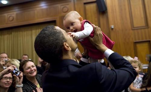Barack Obama baby attack