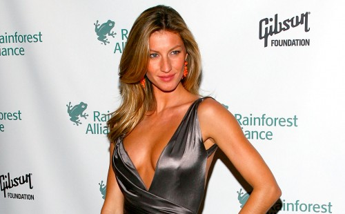 gisele bundchen rainforest