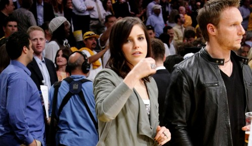 sophia bush lakers
