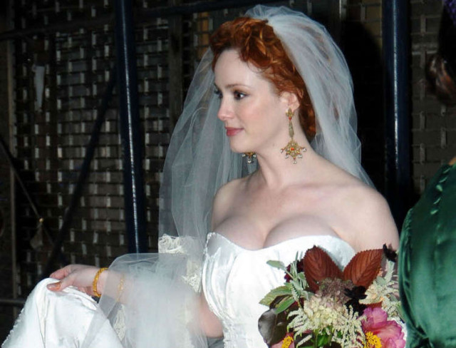 christina-hendricks-wedding
