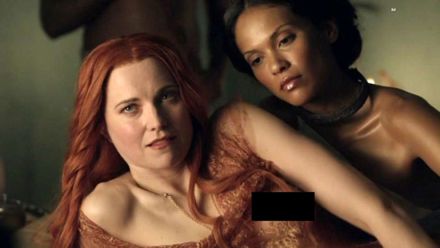 Egotastic Got Some Screen Caps And Video Of Lucy Lawless Topless In Spartacus Nerds Who Still Watch Reruns Of Xena And Think Theyll Turn Into A Superhero