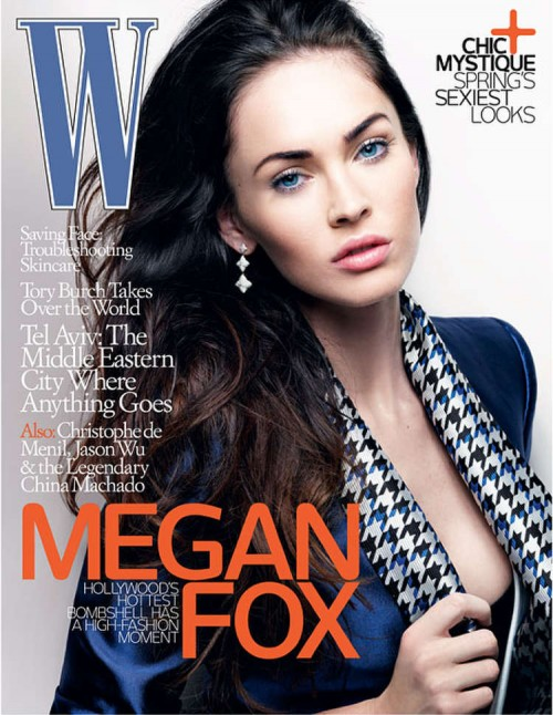 Megan Fox talks about the Armani underwear ad among other things in the