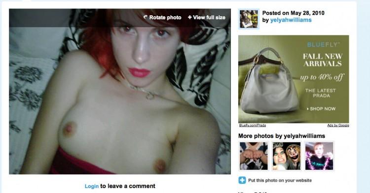 hayley williams nude