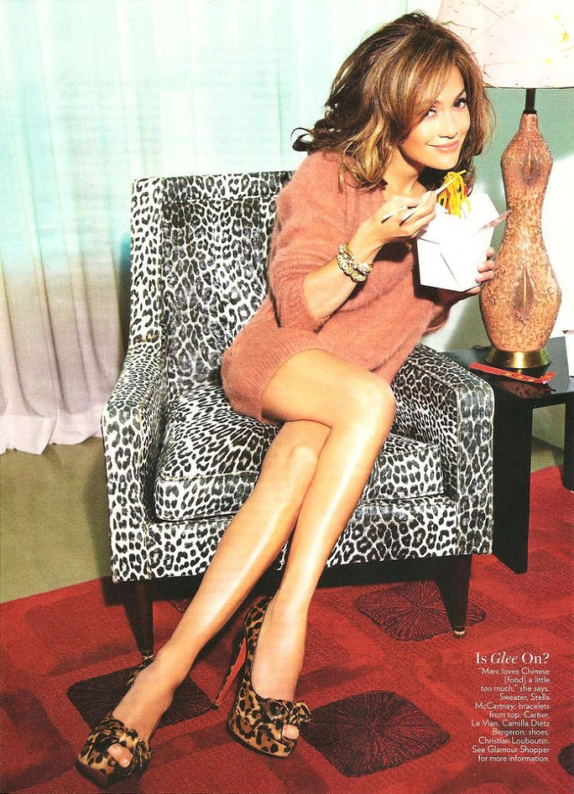 Jennifer Lopez Glamour Sep 2010