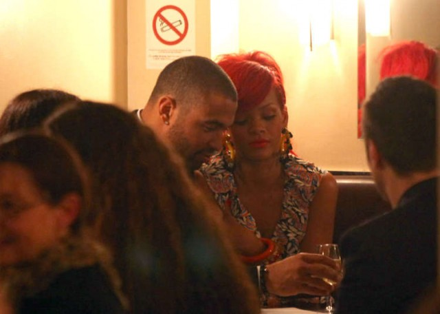 Rihanna And Boyfriend Matt Kemp Romantic Paris Fashion Week