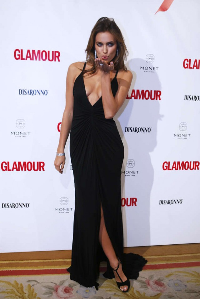 Gorgeous Russion Model Irina Shayk Attends Top Glamour Photocall