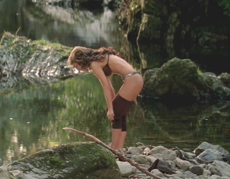 """Natalie Portman in a Thong from """"Your Highness"""""""