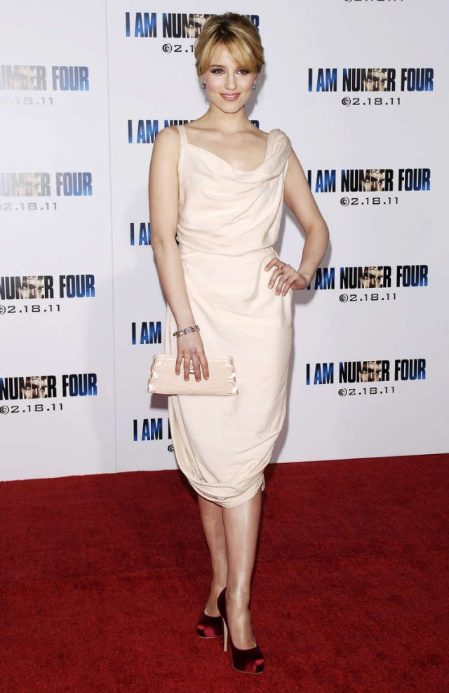 Dianna Agron at The Premiere of I Am Number Four in Hollywood