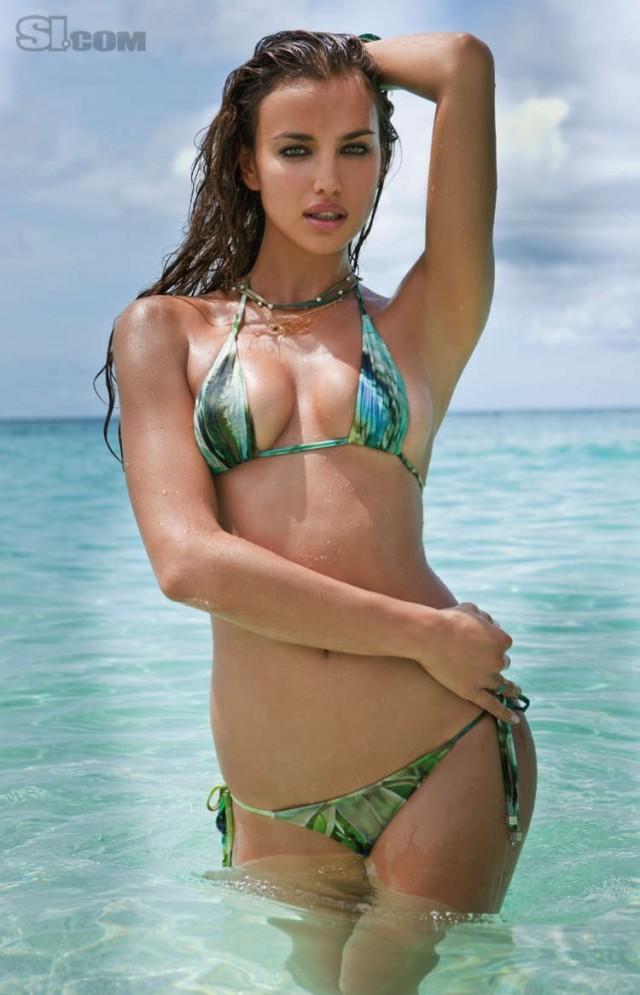 Irina Shayk Sports Illustrated 2011   View full size
