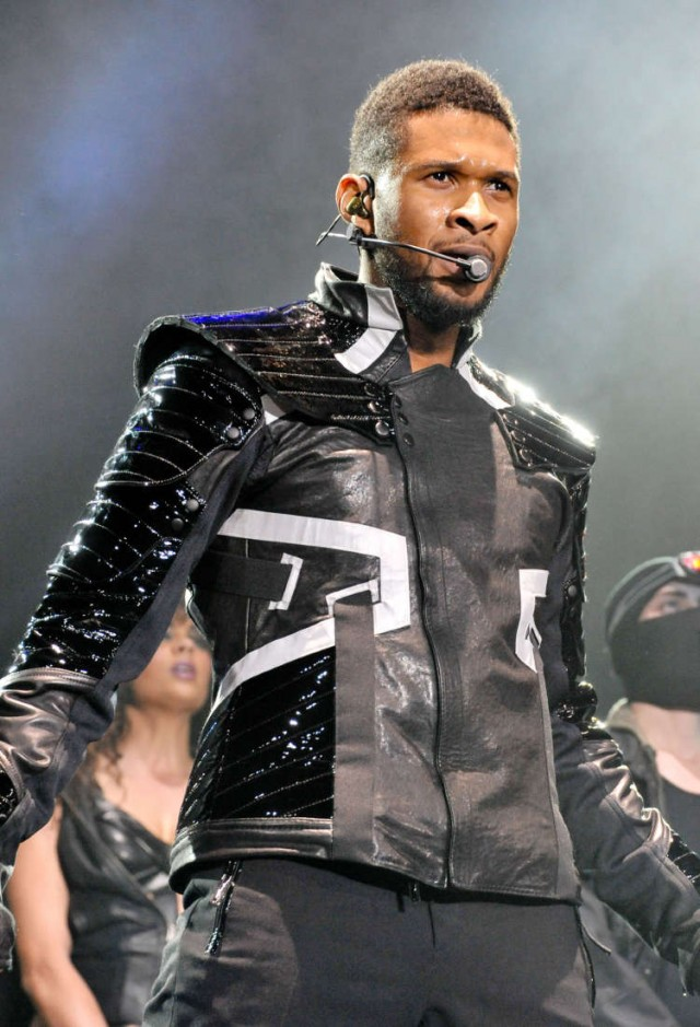 Usher Performs In Paris