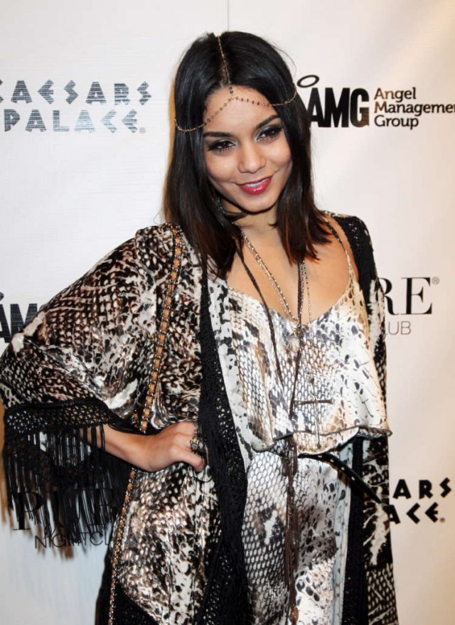 Vanessa Hudgens Promotes Sucker Punch At Pure