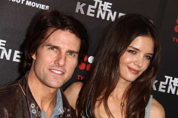 Tom Cruise and Katie Holmes at The Kennedys World Premiere in Beverly Hills