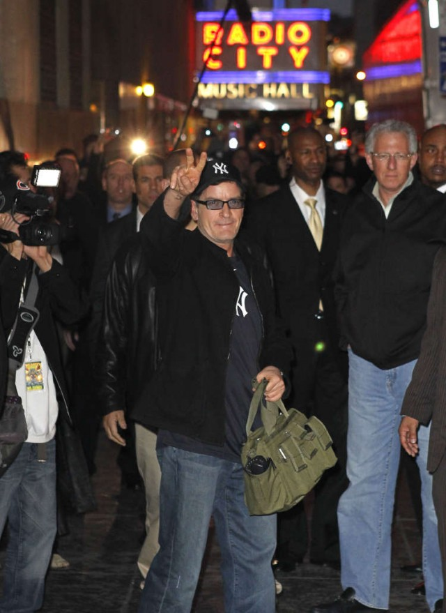 Charlie Sheen Takes On NYC!