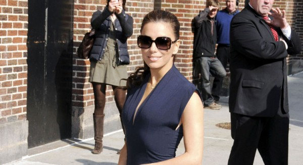 eva longoria david letterman. Eva Longoria hit up David