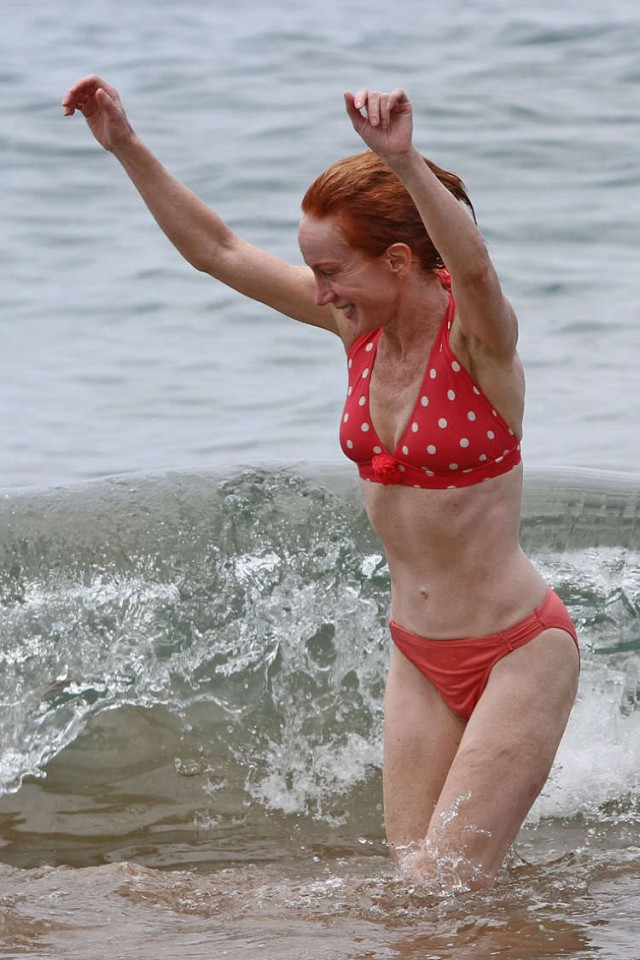 Kathy Griffin in a Bikini Im Sorry The Superficial