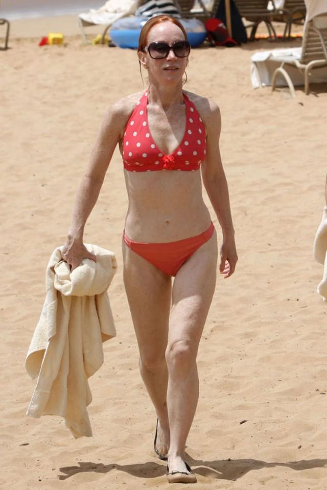 Kathy Griffin Bikini X