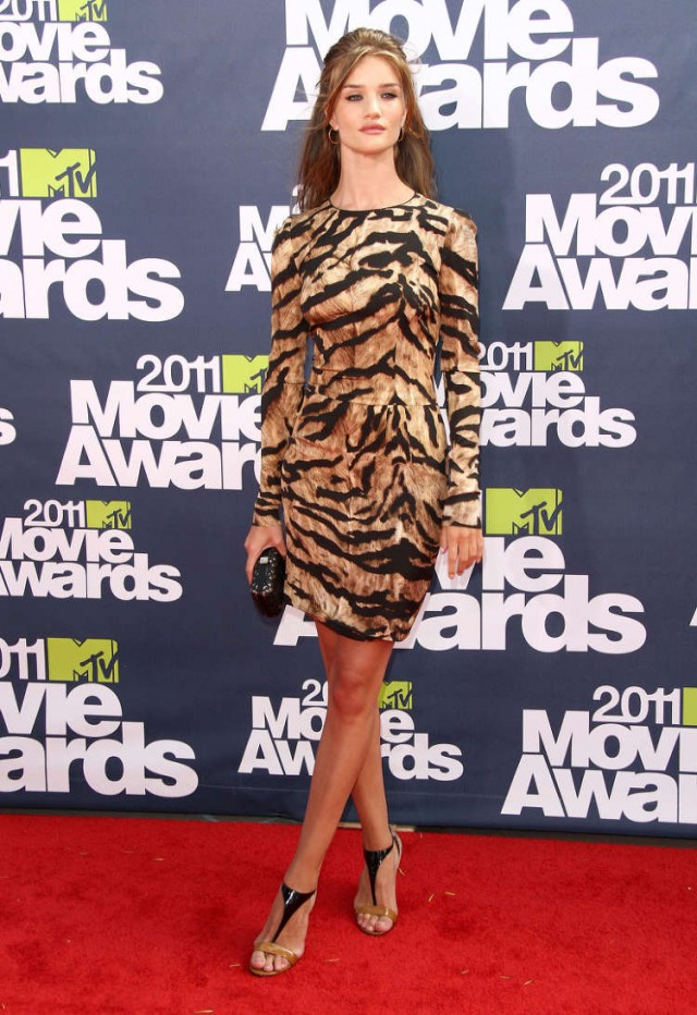Kristen Stewart at The 2011 MTV Movie Awards in Universal City