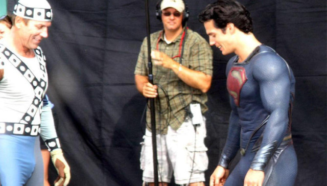 It S Superman S Crotch Bulge The Blemish