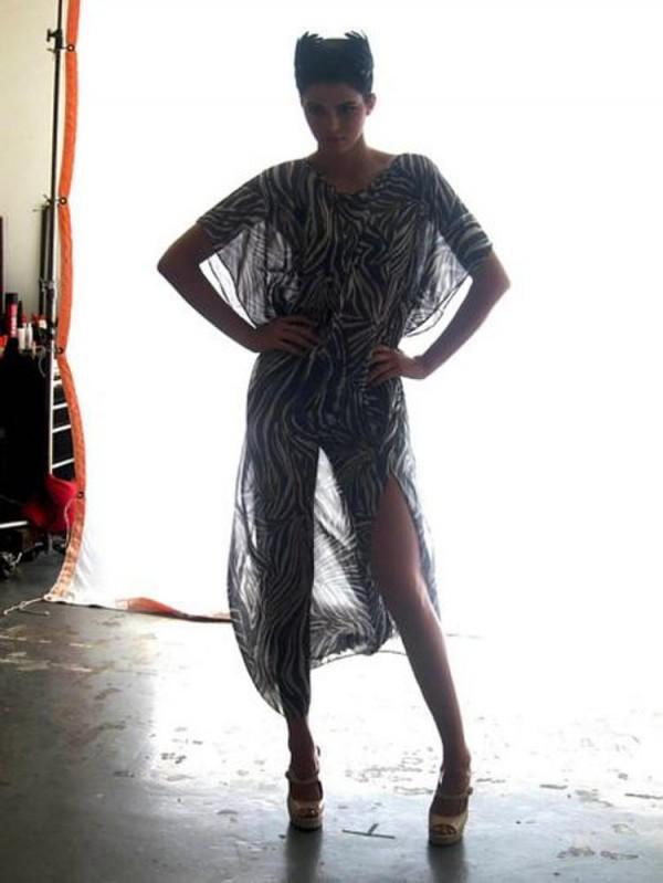 Kendall Jenner White Sands Shoot