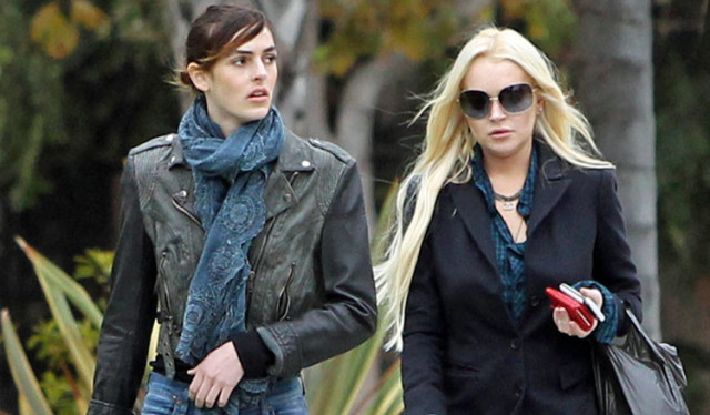 Lindsay Lohan - Braless Candids in London | Hot Celebs Home