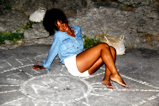 Rihanna Vacation Photos