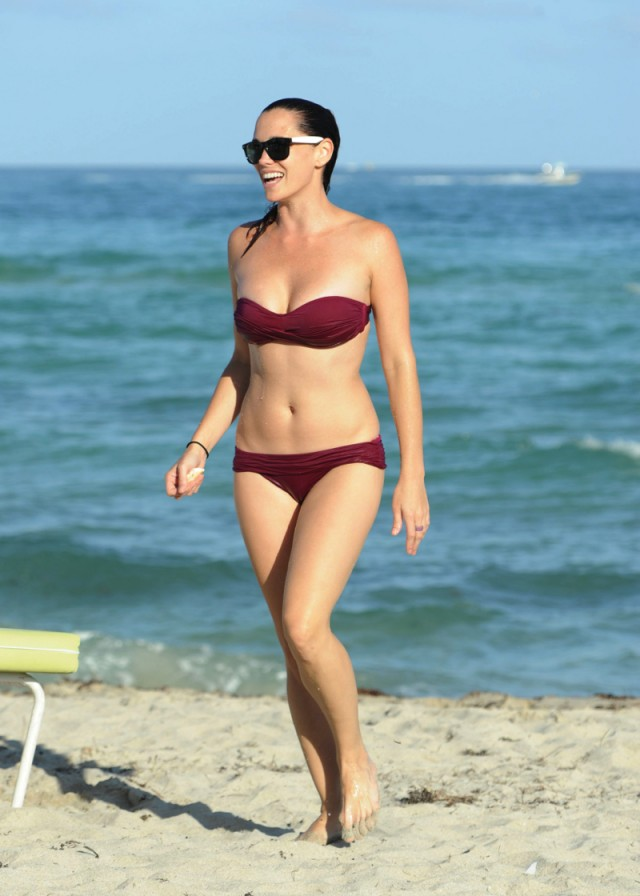 Former Pussycat Doll Jessica Sutta Shows Off Her Bikini Body In Miami