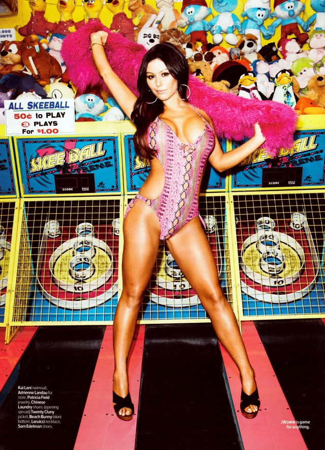 JWoww in Maxim