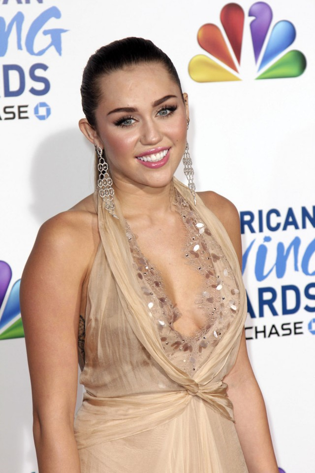 Miley Cyrus at the American Giving Awards