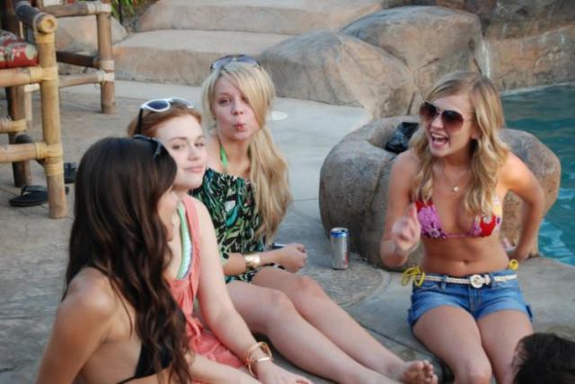 Britt robertson bikini