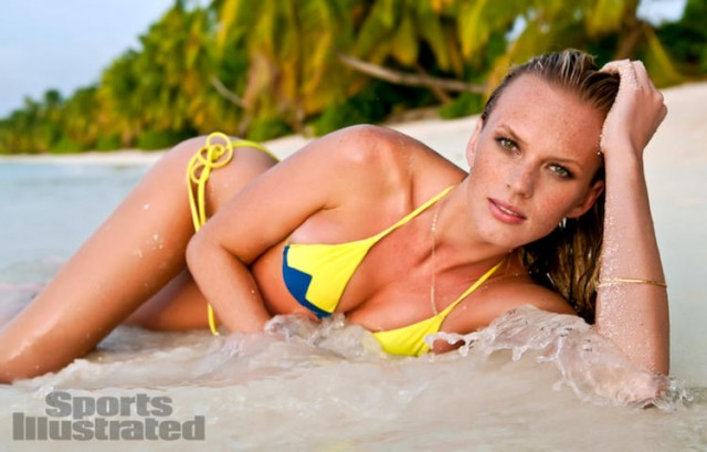 Anne Vyalitsyna, 2012 Sports Illustrated Swimsuit