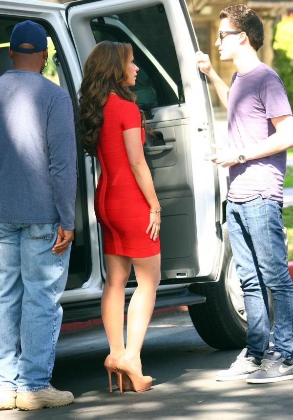 "Jennifer Love Hewitt On The Set Of ""The Client List"""