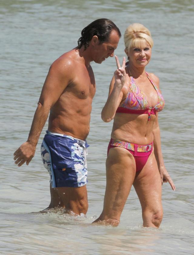 Ivana Trump Shows Off Her Bikini Body | 105529 | Photos | The Blemish