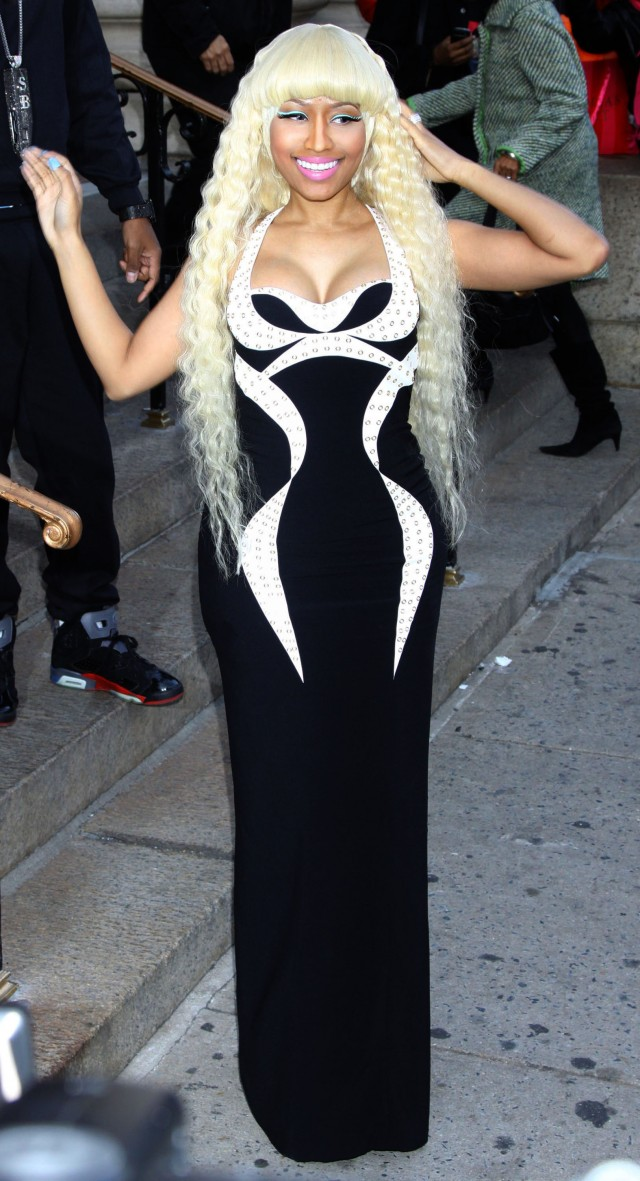 "Nicki Minaj Arives at the Billboard ""Women in Music"" Event in NYC"