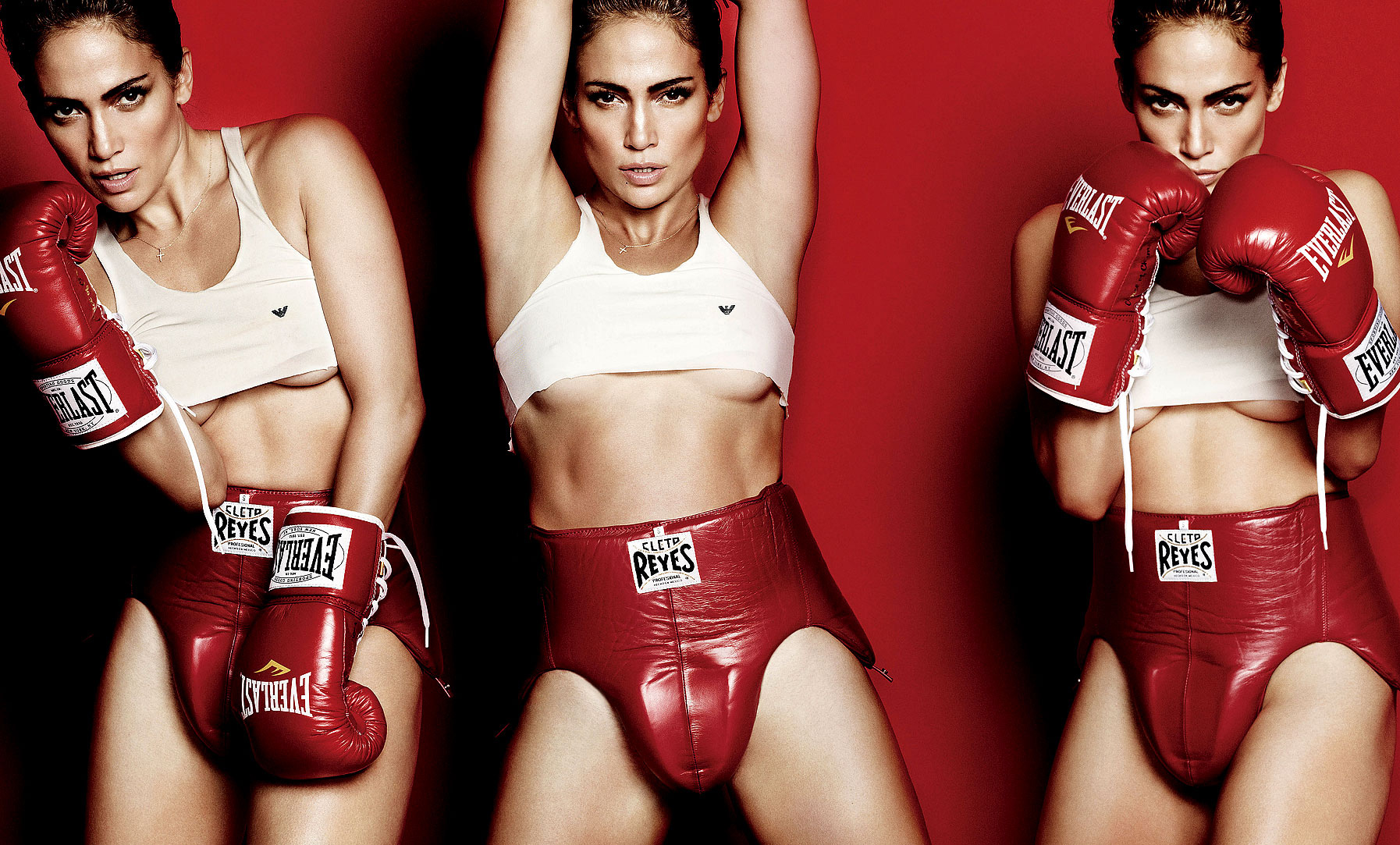 Сексуальный бокс женщин 9 фотография