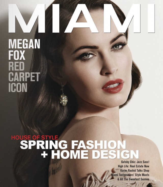 Megan Fox, MIAMI Magazine