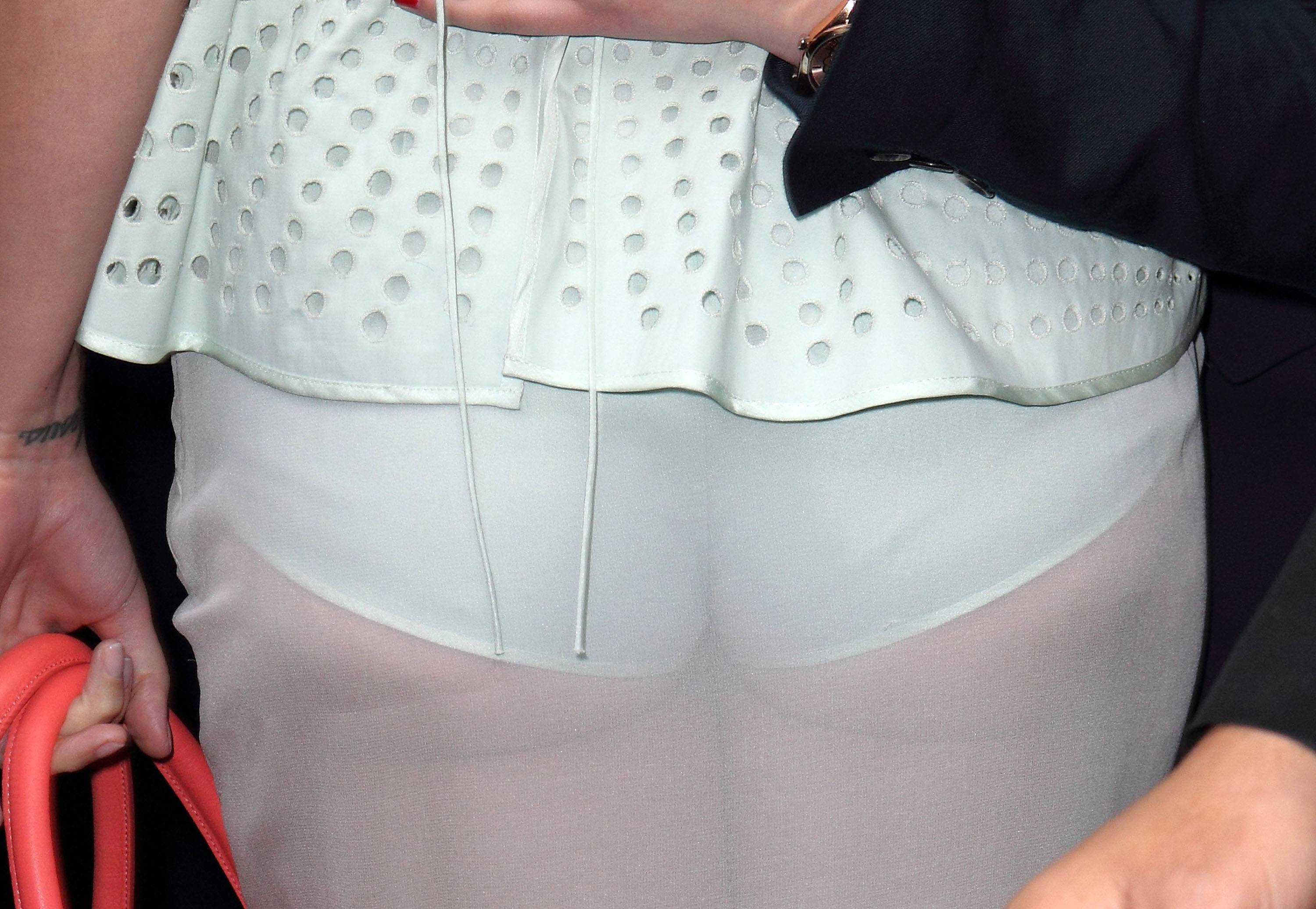 Katy Perry Flashes Ass at Fashion Week | The Blemish