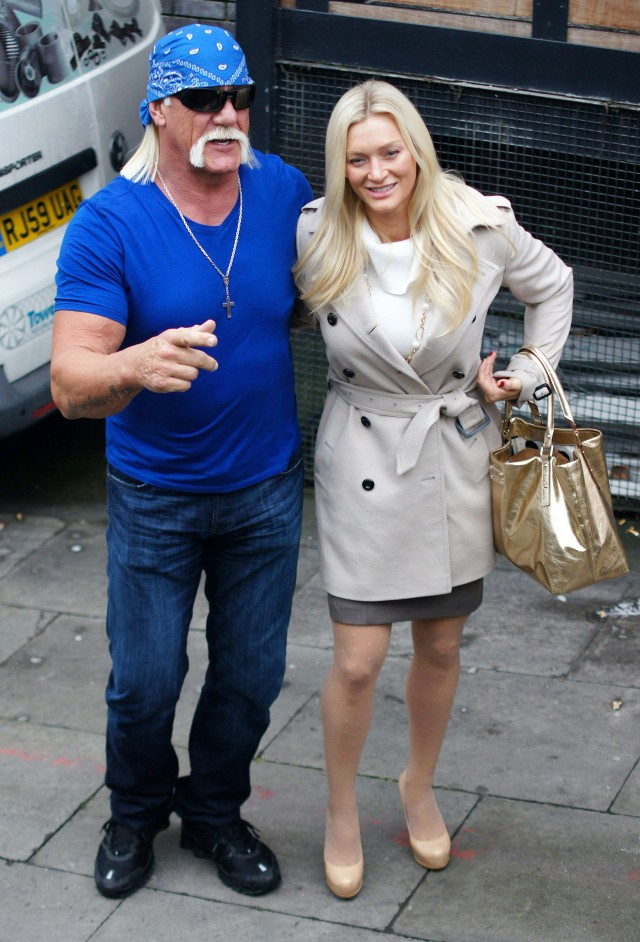 Hulk Hogan And Jennifer Stop By Loose Women