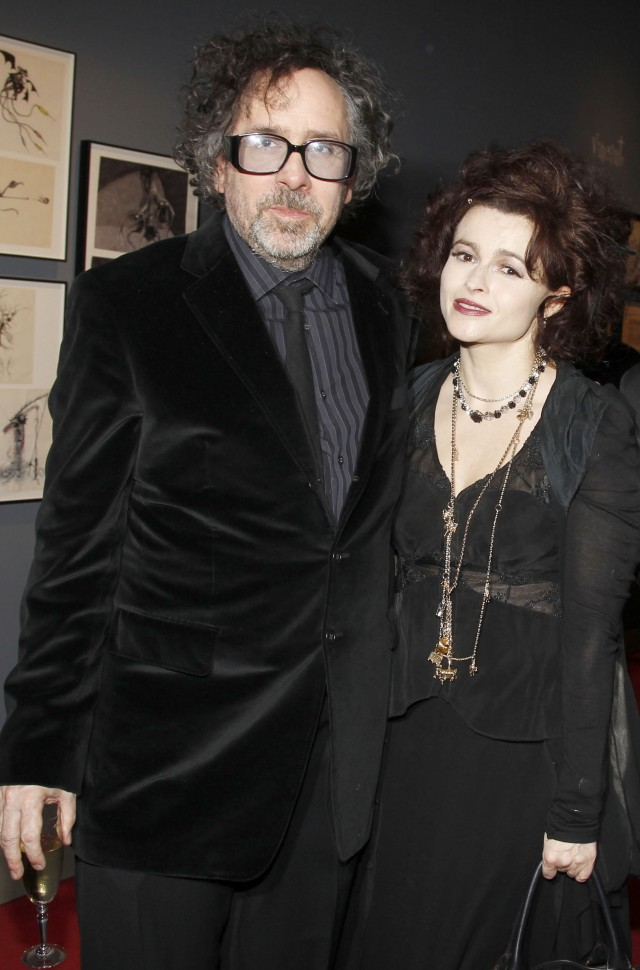 Celebrities At The Tim Burton Exhibition Dinner