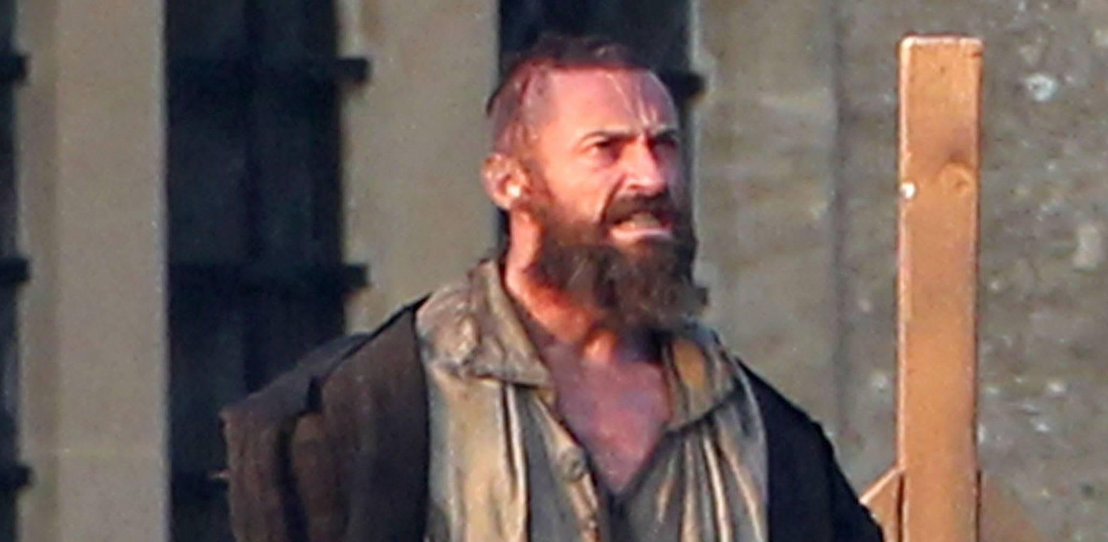 Hugh Jackman Has a Nice Beard Going for 'Les Miserables' | The Blemish  Hugh Jackman Ha...