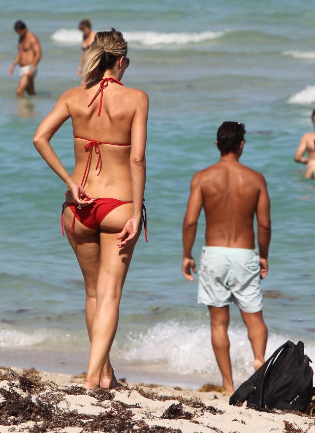 Rita Rusic Has a 'Slip' on the Beach in Miami