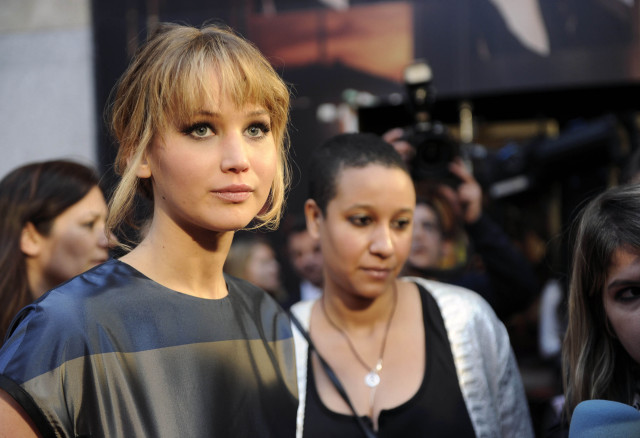 "Jennifer Lawrence Attends ""The Hunger Games"" Madrid Premiere"