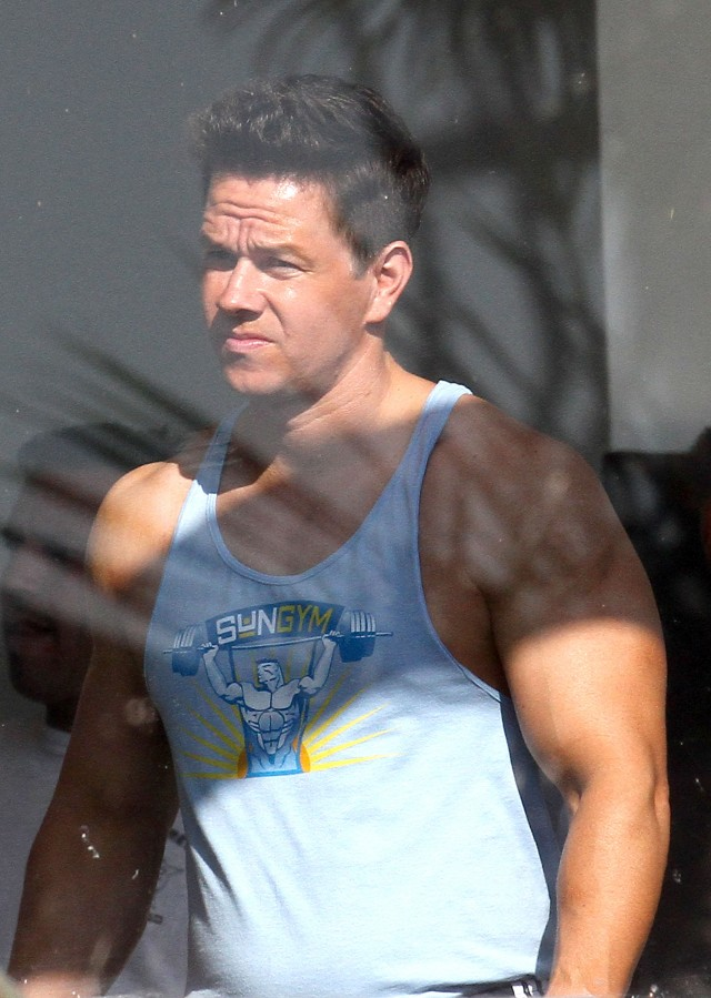 mark wahlberg gets ripped on pain and gain 111583 photos the