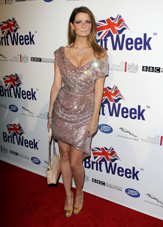 Mischa Barton at The  Official Launch Party of BritWeek 2012 in LA