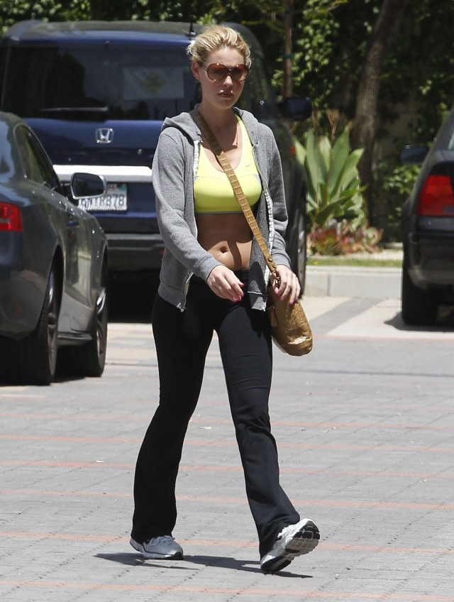 Katherine Heigl At A Gym In Los Angeles